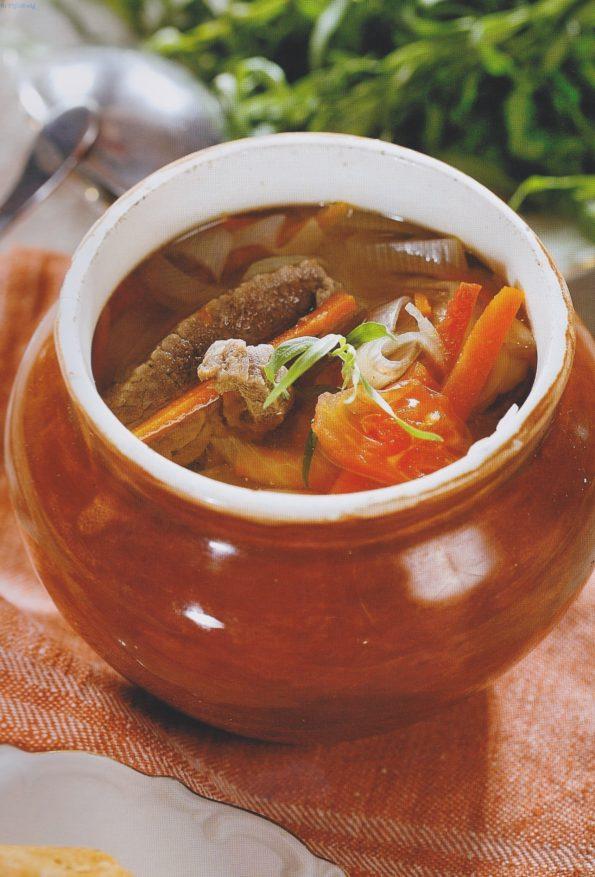 суп з тонкими кишками з вени рецепт
